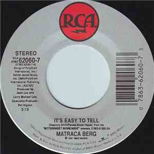 Matraca Berg - It's Easy To Tell / Baby, Walk On download mp3 flac